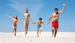vacaciones familia